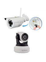 Coppia IP camere SP007 + SP017